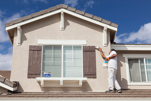 exterior paint, residential painting