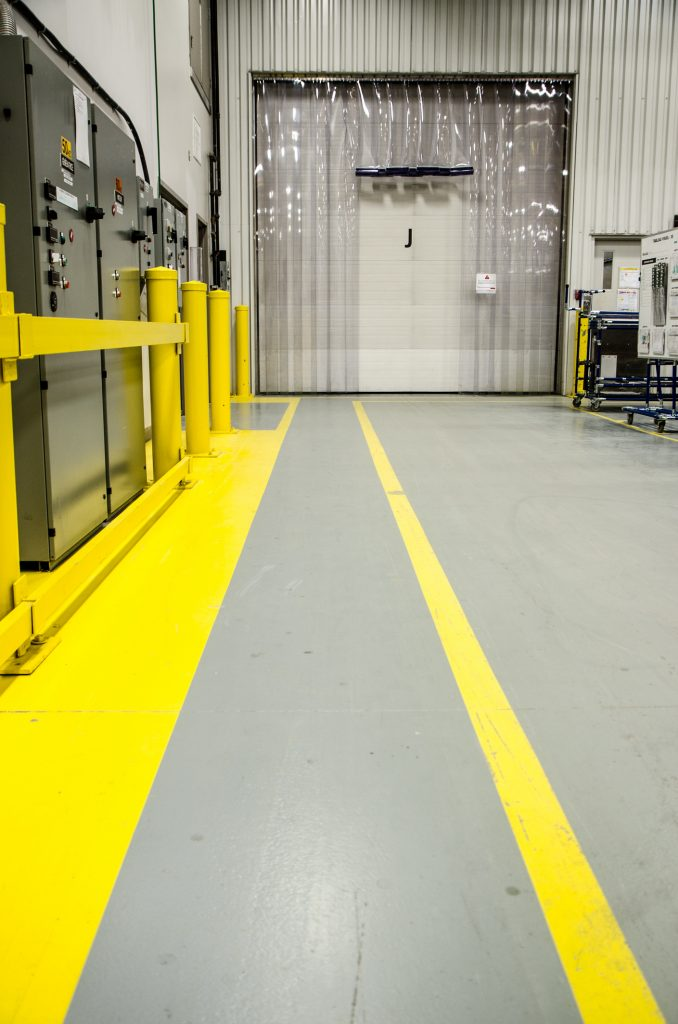 Warehouse Safety Paint